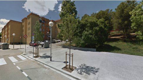 Zona de Nou Barris, en Barcelona, donde se produjo la brutal agresión.