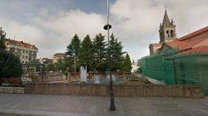 Plaza de la Villa de Lalín (Pontevedra), localidad donde se produjeron los hechos.