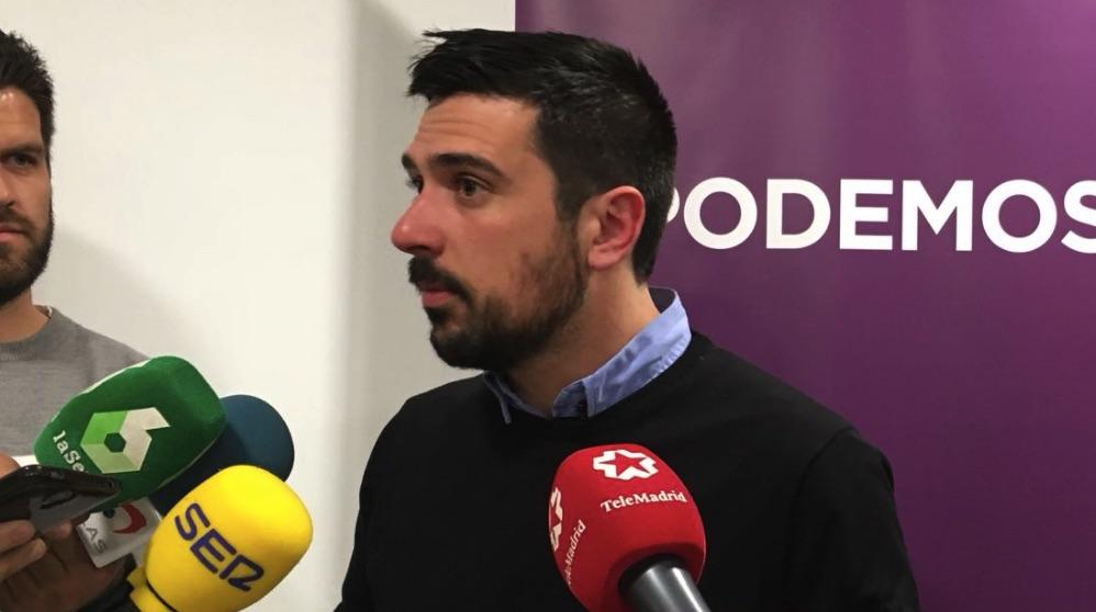 Ramón Espinar. (Foto. OKDIARIO)