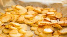 Receta de patatas panaderas.