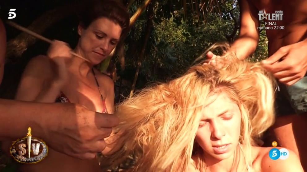 Romina se niega a cortarse el pelo en 'Supervivientes 2018'