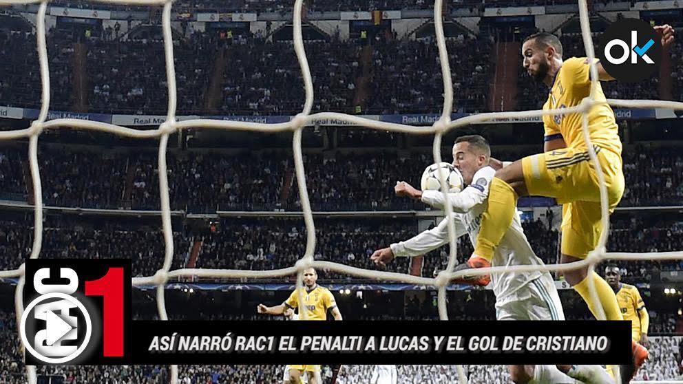 Real Madrid – Juventus, Champions League.
