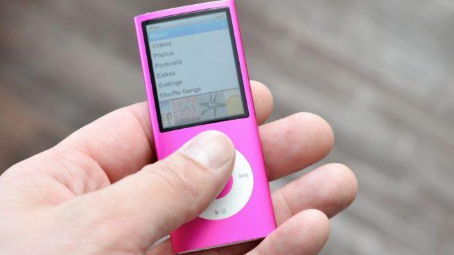 resetear un iPod