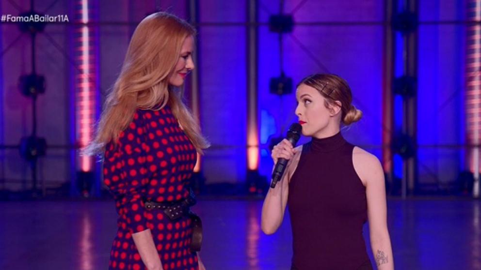Cora, la primera expulsada de la semana en 'Fama a bailar'.