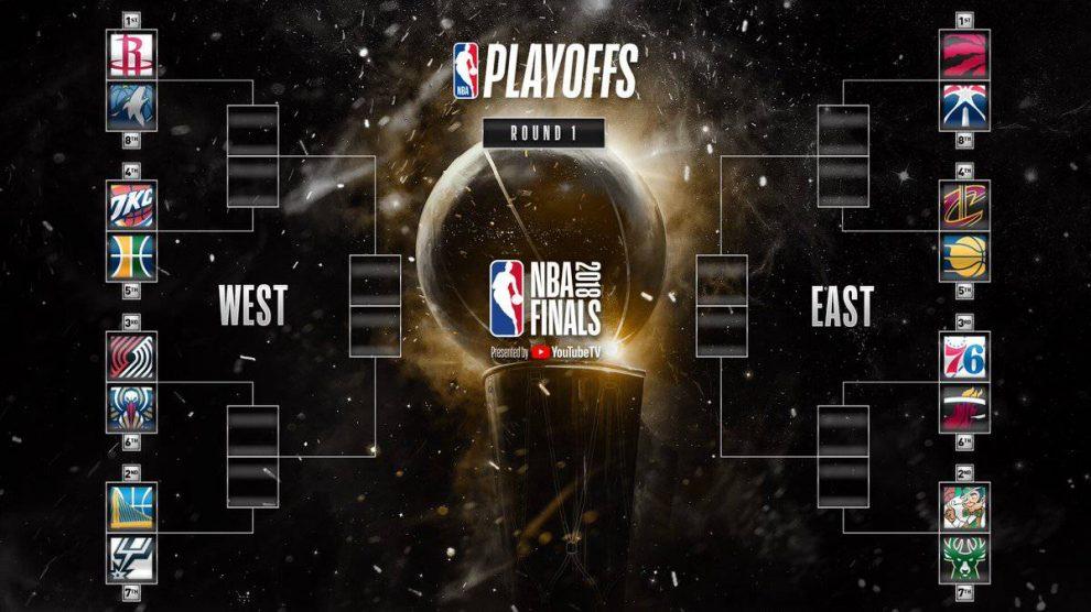 El cuadro definitivo de los Playoff de la NBA 2018.