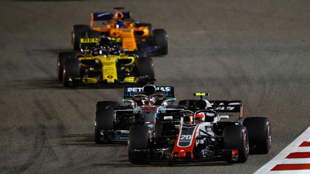 La gran distancia entre los tres grandes equipos y el resto de la parrilla es, según Ross Brawn, el gran problema de la Fórmula 1 actual. (Getty)