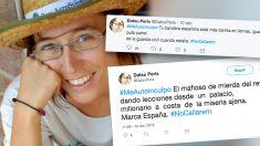 """Datxu Peris, la edil que cree que la bandera española estaría """"mejor en llamas"""""""