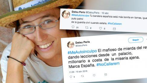 Datxu Peris, la edil que cree que la bandera española estaría «mejor en llamas»
