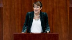 Lorena Ruiz-Huerta, portavoz de Podemos en la Asamblea de Madrid. (Foto: EFE)