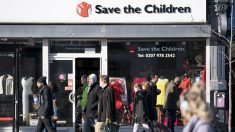 Establecimiento de Save the Children en Reino Unido. (Foto: AFP)
