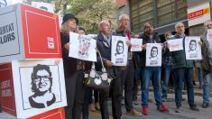 Manifestación de CCOO y UGT apoyando a los golpistas (Foto:Twitter) | Última hora Cataluña