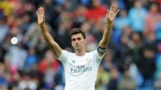 Arbeloa, el día de su despedida del Real Madrid. (Getty)