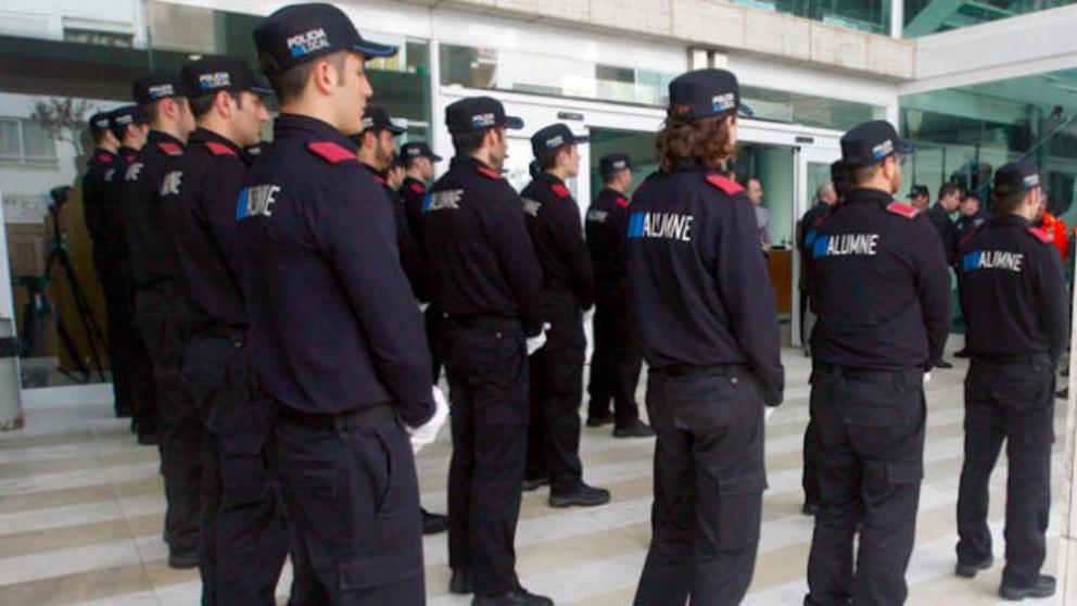 Agentes de los Mossos (RRSS).