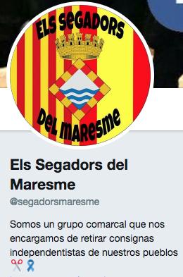 Las patrullas españolistas se visten de NBQ para desinfectar Cataluña de propaganda separatista