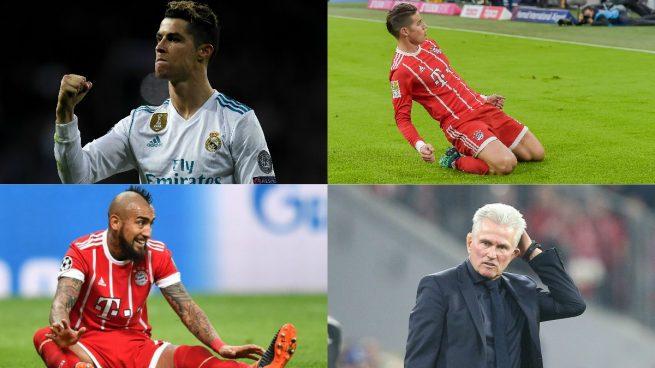 Los siete nombres del morbo en el Bayern – Real Madrid