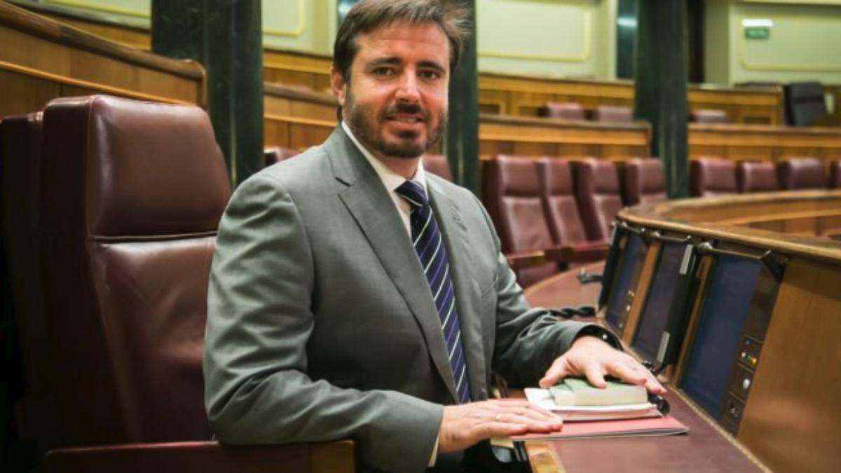 El diputado nacional del PSPV-PSOE Herick Campos. (RRSS)