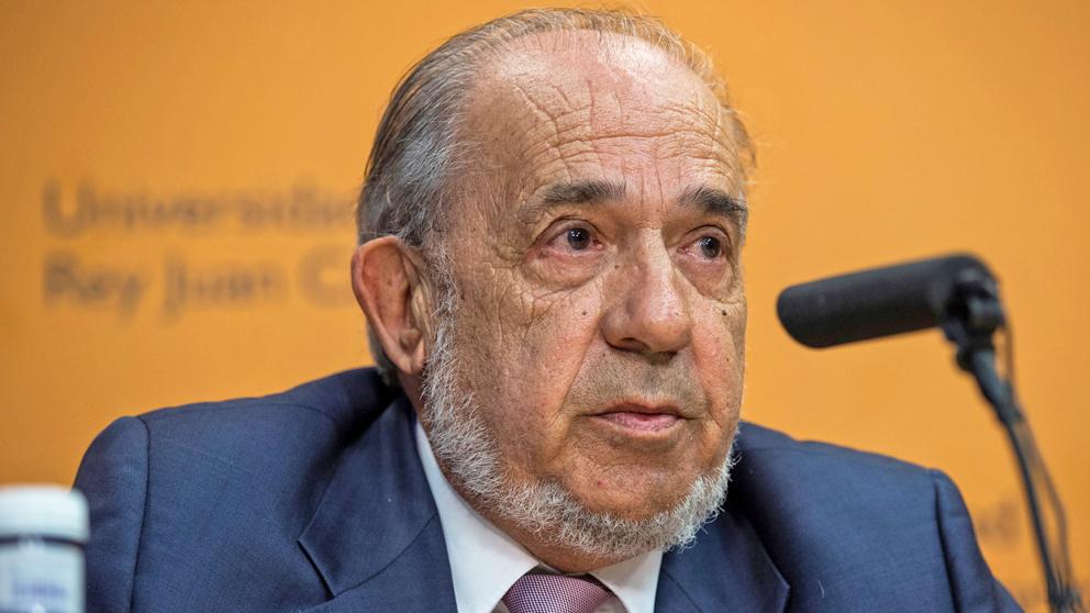 Enrique Álvarez Conde, ex director del Instituto de Derecho Público de la URJC.