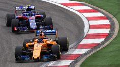 Fernado Alonso, en una carrera de esta temporada.