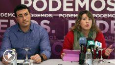 Juan Merlo en rueda de prensa
