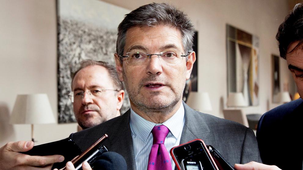 Rafael Catalá, ministro de Justicia. (Foto: EFE)