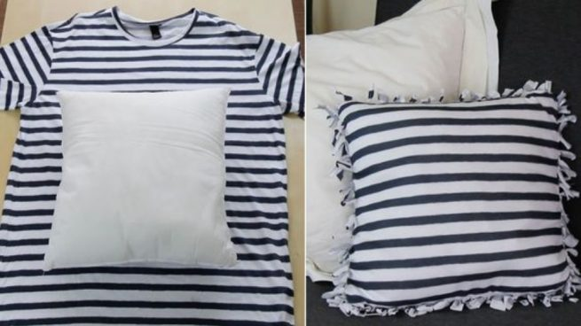 Reciclar camisetas con ideas originales
