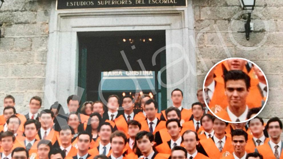 La promoción de Pedro Sánchez en el RCU María Cristina de los agustinos.