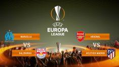Así quedan los emparejamientos de las semifinales de la Europa League.