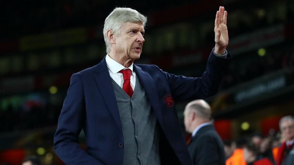 Arsène Wenger, técnico del Arsenal. (Getty)