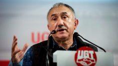 El secretario general de UGT, Pepe Álvarez. (Foto: EFE) | Disolución ETA