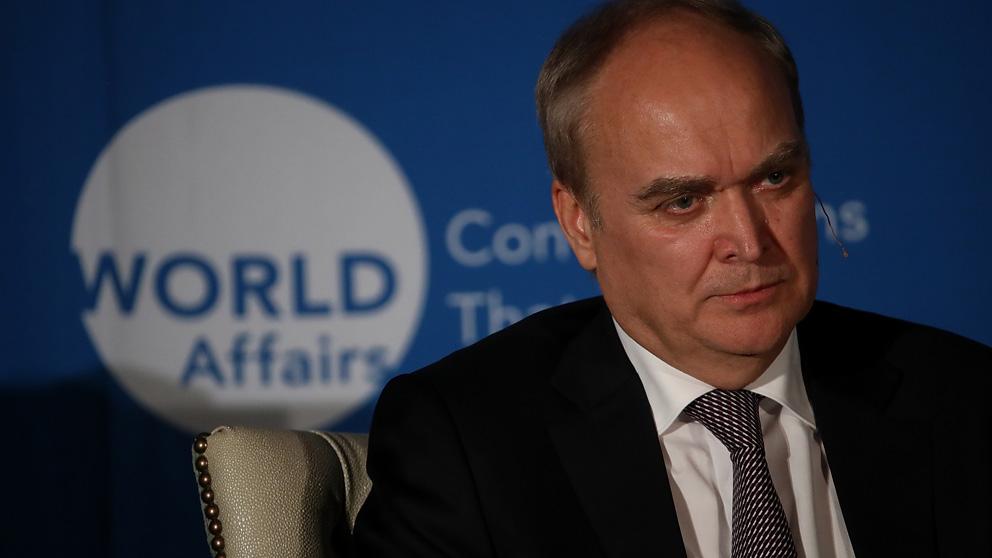 Anatoly Antonov, embajador de Rusia en Estados Unidos (Foto: AFP)