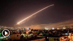 Las defensas antiaéreas de Siria se encendieron ante el ataque de EEUU con el apoyo de Francia y Reino Unido