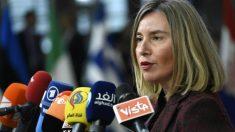 Federica Mogherini,  Alta Representante de Política Exterior y de Seguridad Común de la UE. Foto: AFP