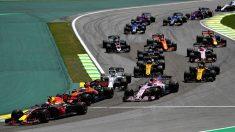 Horario y parrilla de salida del GP de China de Fórmula 1.