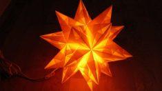 Aprende a hacer lámparas de papel originales para decorar tu casa.