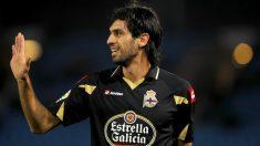 Lassad, en un partido con el Deportivo. (AFP)