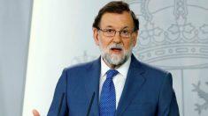 Mariano Rajoy, presidente del PP.