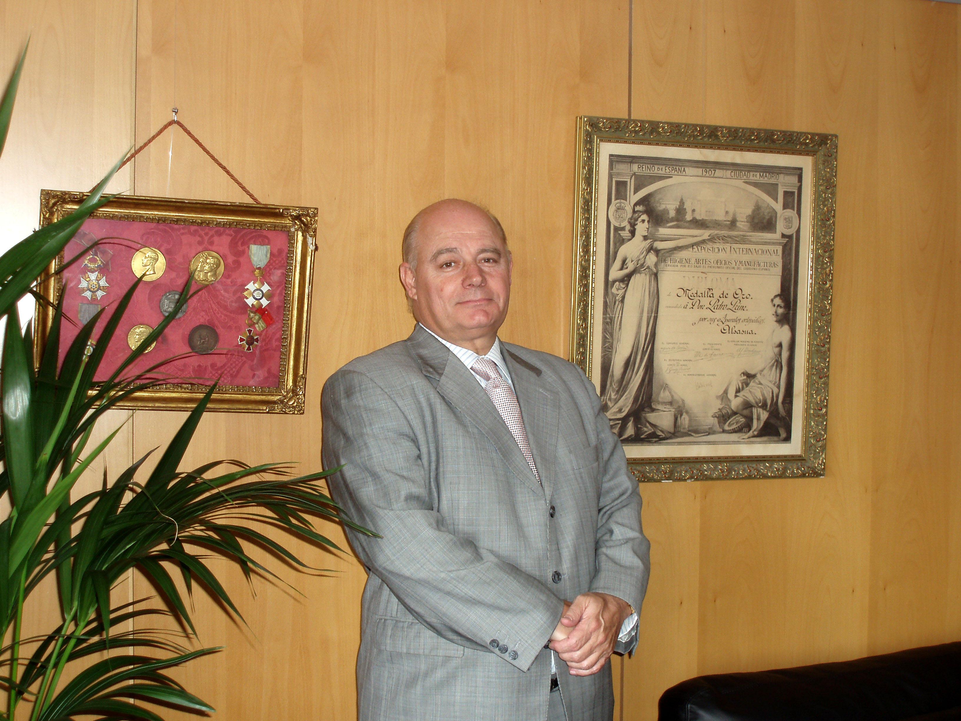 Victor Prim, presidente de Prim