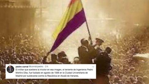 Pedro Corral lanza un zasca a Alberto Garzon y Pablo Iglesias en el aniversario de la II República