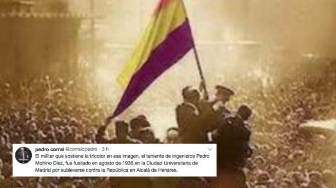El doble zasca de Corral (PP) a Garzón e Iglesias en el aniversario de la II República