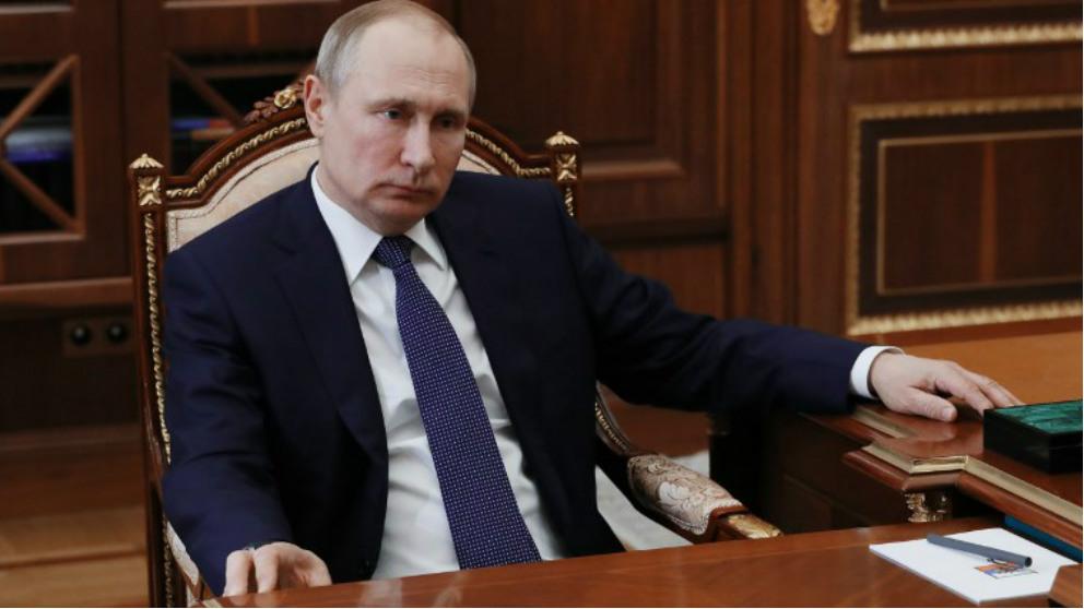 Vladimir Putin, presidente de Rusia. Foto: AFP