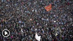 Marcha en Pamplona (Foto: EFE)
