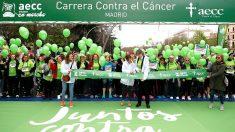 Salida de la carrera contra el cáncer (Foto: Efe).