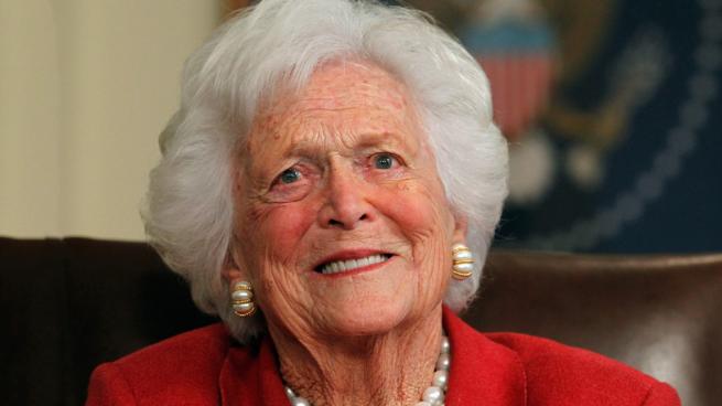 Barbara Bush abandona su tratamiento y entra en cuidados terminales
