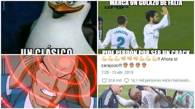 Los mejores memes del Málaga – Real Madrid