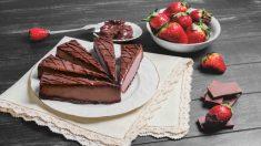 Receta de tarta de Nocilla sin horno paso a paso