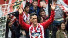 Fernando Torres marcó su gol 100 en Primera con el Atlético. (EFE)
