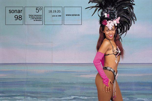 Cártel promocional de Sónar 1998.