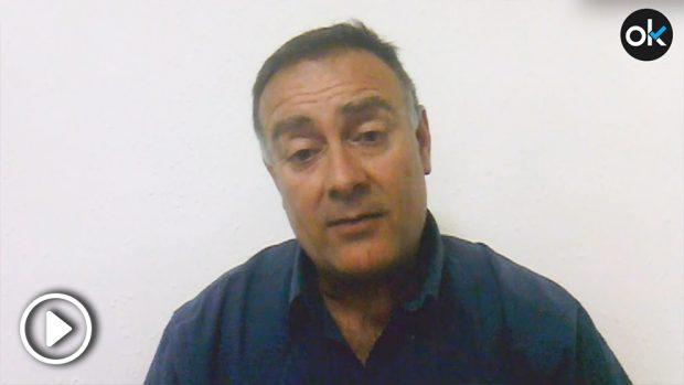 Angel Gómez, presidente de la Unión de Mossos por la Constitución (UCM)