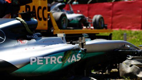 Los choques entre compañeros de equipo de la Fórmula 1 son algo tan antiguo como la propia competición, habiéndose creado situaciones de lo más tensas durante los últimos años. (getty)