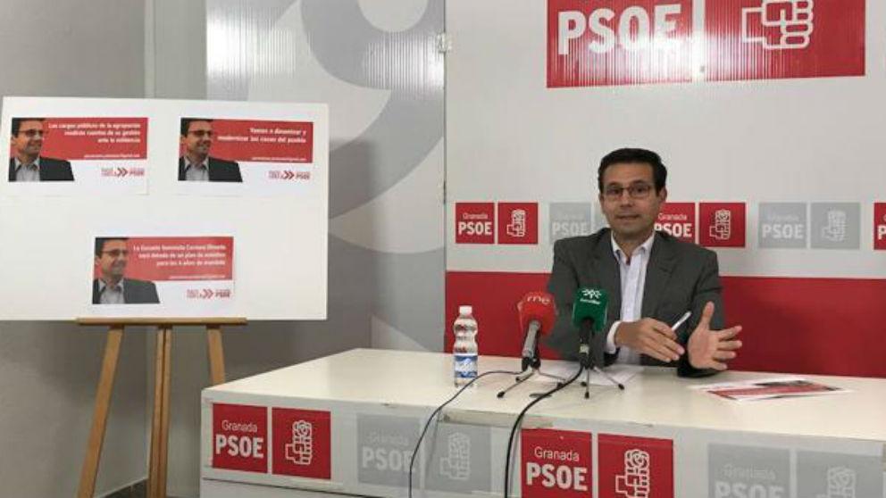 Francisco Cuenca, alcalde del PSOE en Granada (Foto: Twitter)